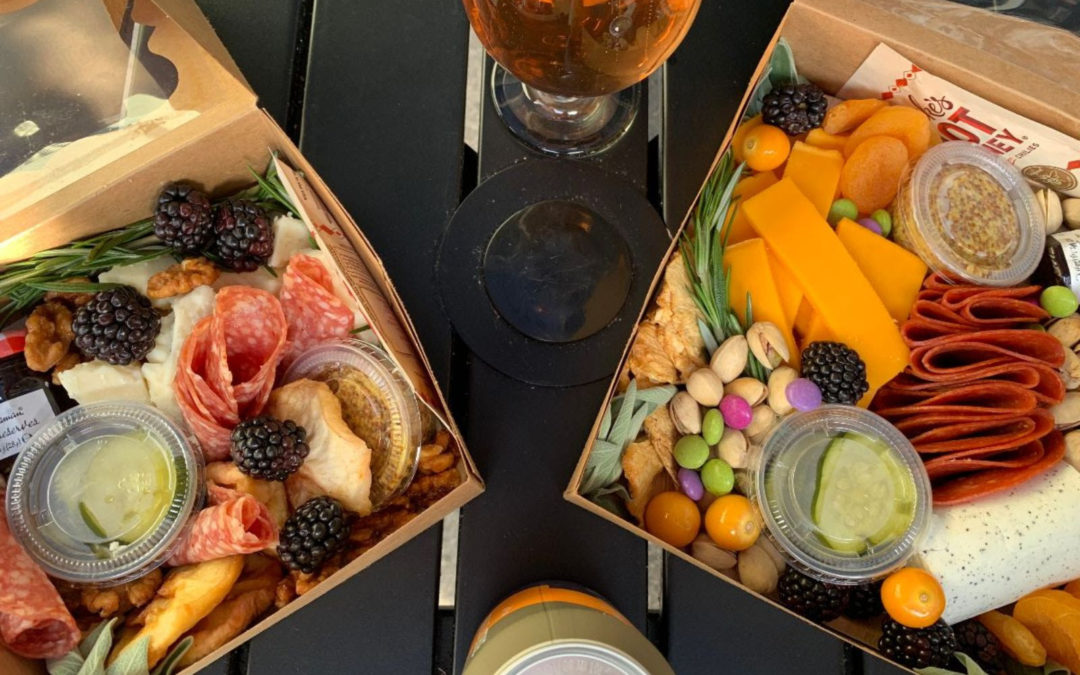 Defiant Mother Grazing Board Pop-Up at the Hale & True Taproom