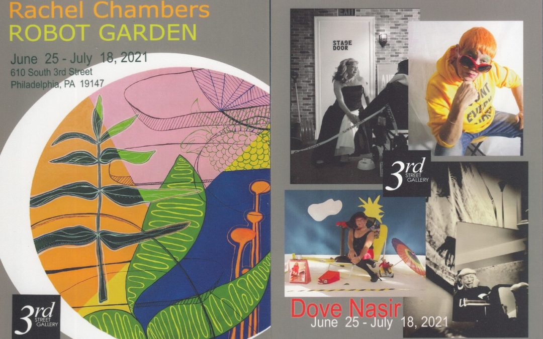 Rachel Chambers & Dove Nasir Art Show — 3rd Street Gallery