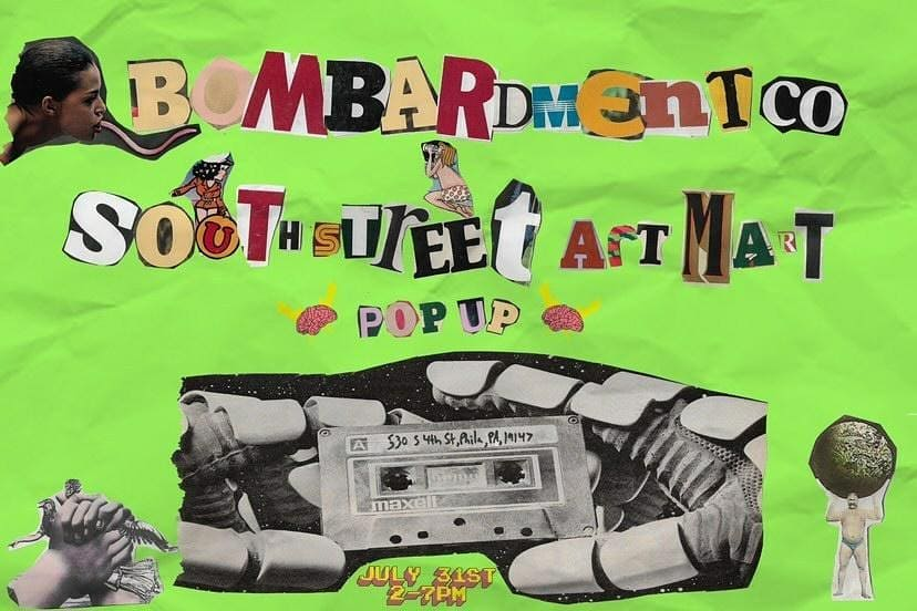 Bombardment Co. x South Street Art Mart Pop-Up