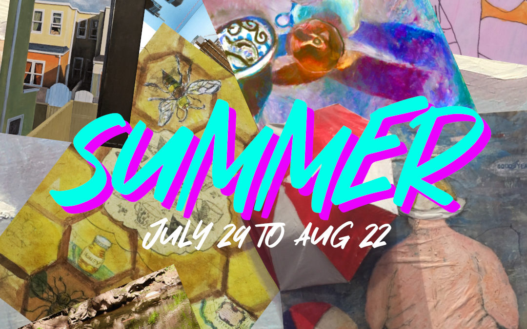 "Art Exhibition ""Summer"" – 3rd Street Gallery"