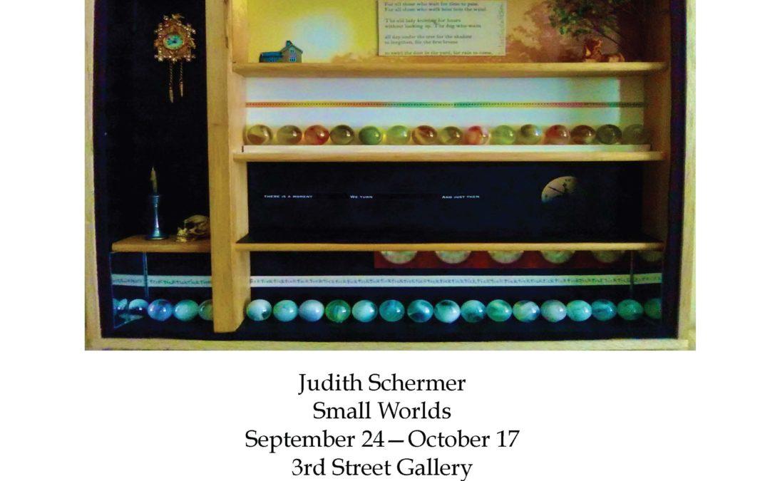 """Judith Schermer """"Small Worlds"""" — 3rd Street Gallery"""